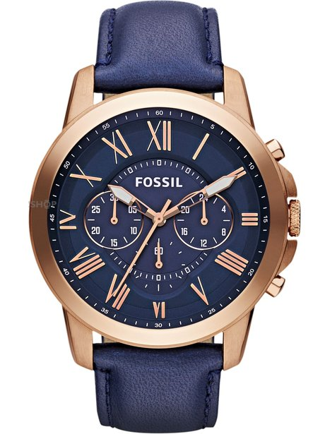 Fossil Men's Grant Chronograph Watch, £103