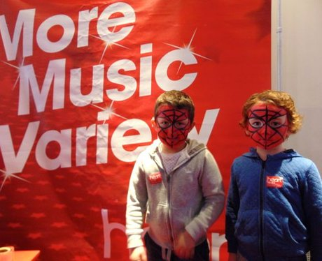 Spidermen were in full force in Odeon today!