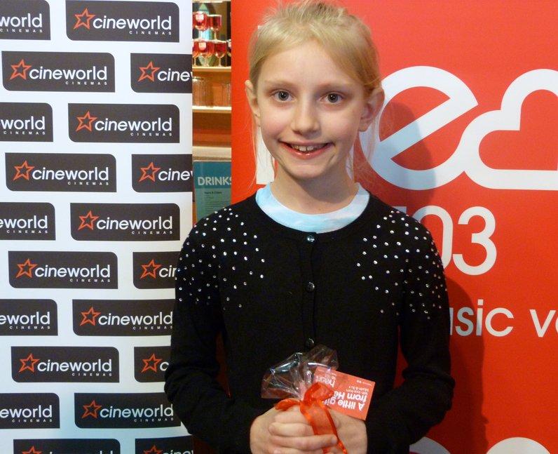 Cinderella Cineworld Braintree (28 March 2015)