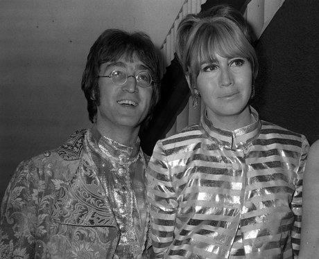 Cynthia Lennon and John Lennon