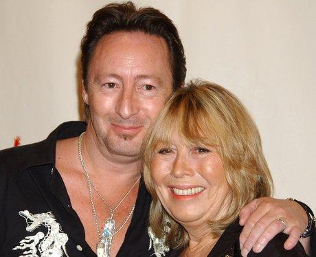 Cynthia Lennon with son Julien