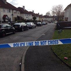 Salford Street where grenade thrown