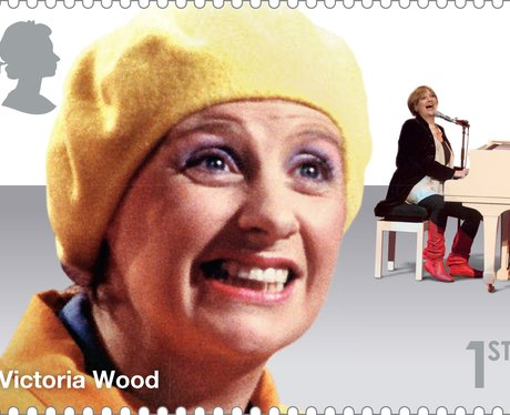 Victoria Wood Comedy Greats Stamp Collection