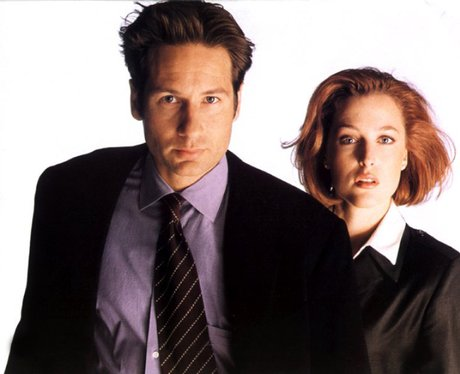 X Files Mulder & Scully