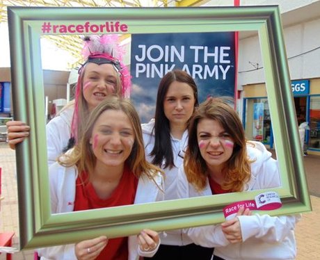 Race for Life Launch Cwmbran