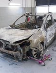 Burnt out car Donna Eastwood murder