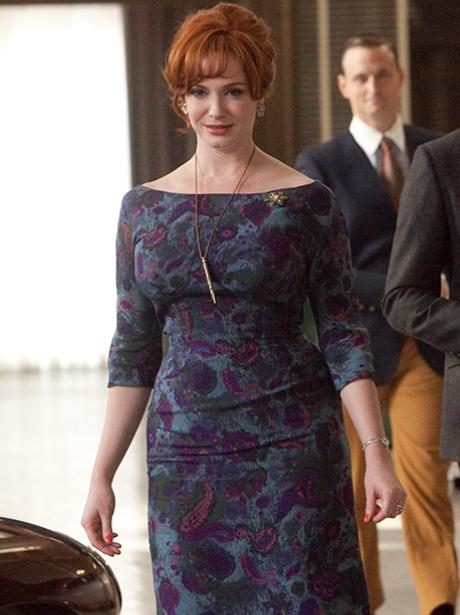 Christina Hendricks as Joan Harris in Mad Men