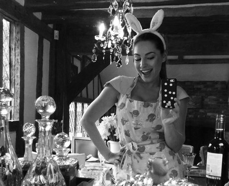Kelly Brook is a sexy Easter bunny