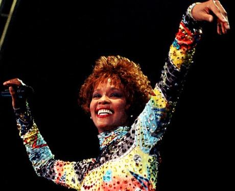 Whitney Houston by Dave Benett, 1991