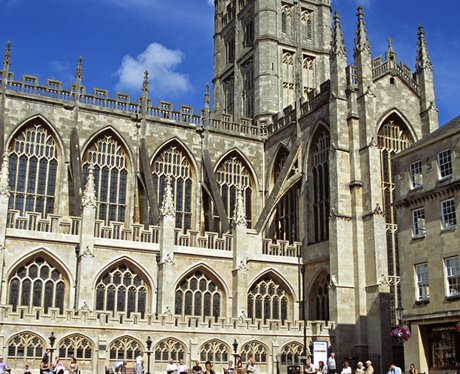 Bath Abbey In The Sun