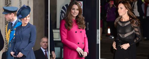Kate Middleton pregnancy canvas 2