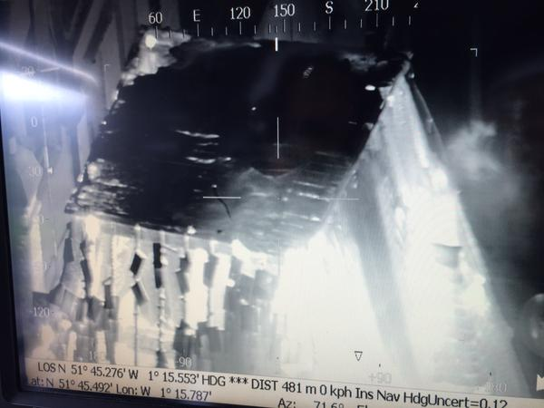 Randolph fire thermal image