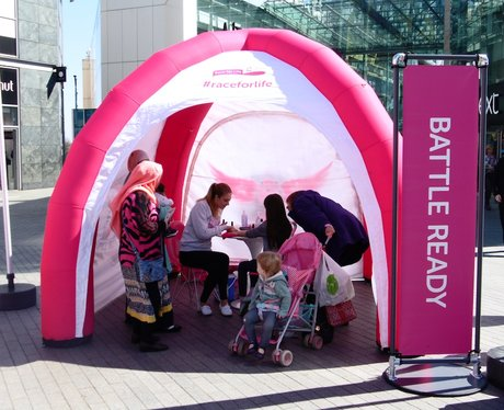 Race For Life Launch Event at Bullring