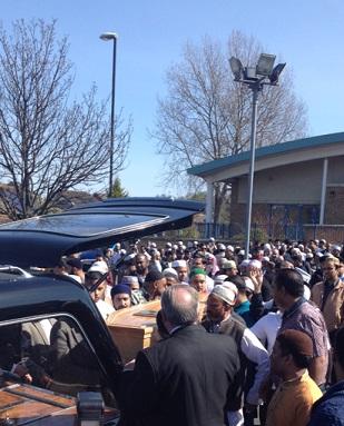Tipu Sultan funeral