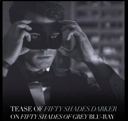 Jamie Dornan 'Fifty Shades Of Grey Darker'