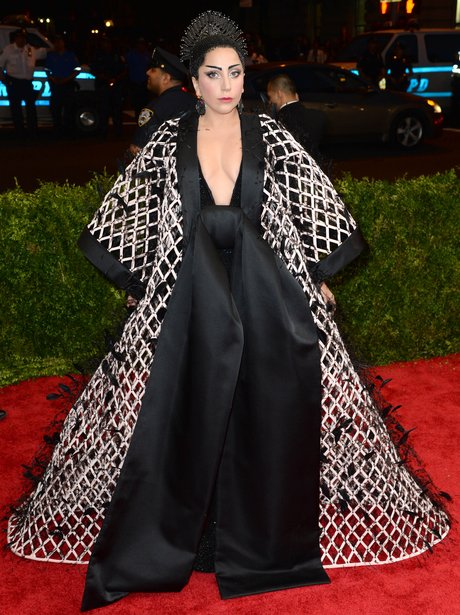 Lady Gaga MET Ball 2015