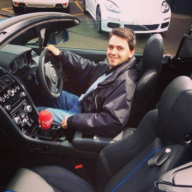Josh In An Aston Martin
