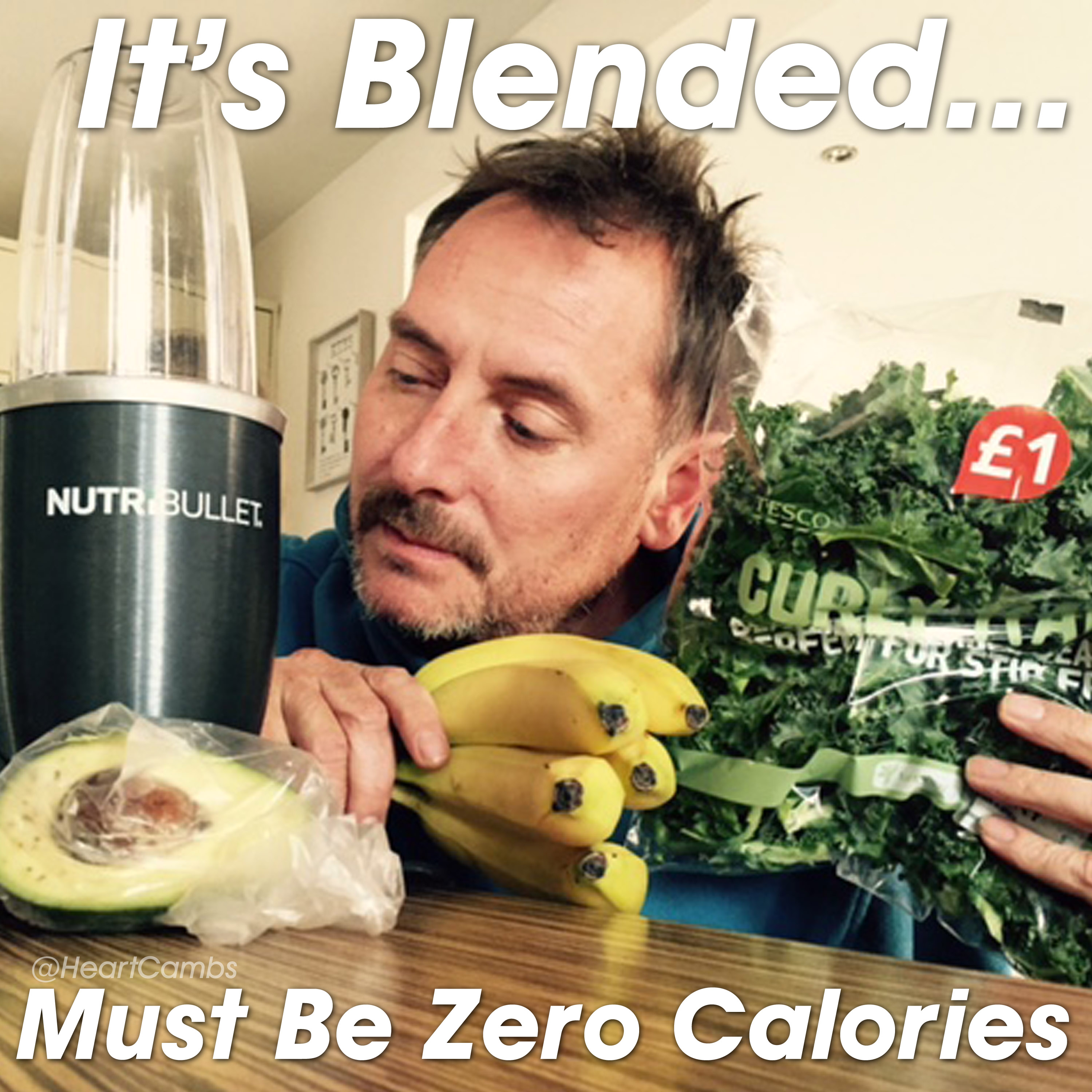 Kev with a Nutribullet