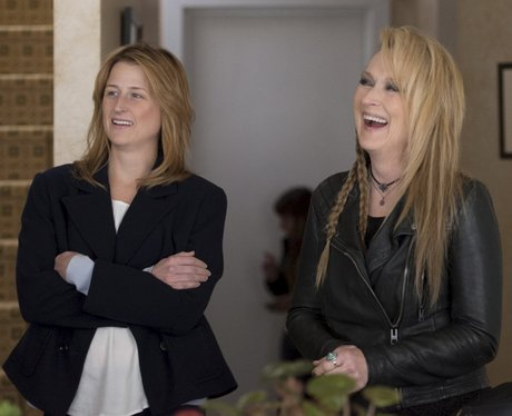 Meryl Streep and Mamie Gummer in Ricki and the Fla