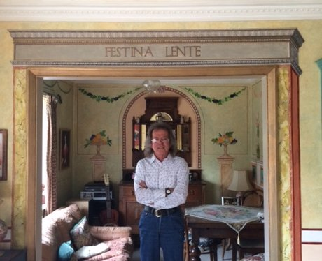 Robert Burns in his Renaissance-inspired home