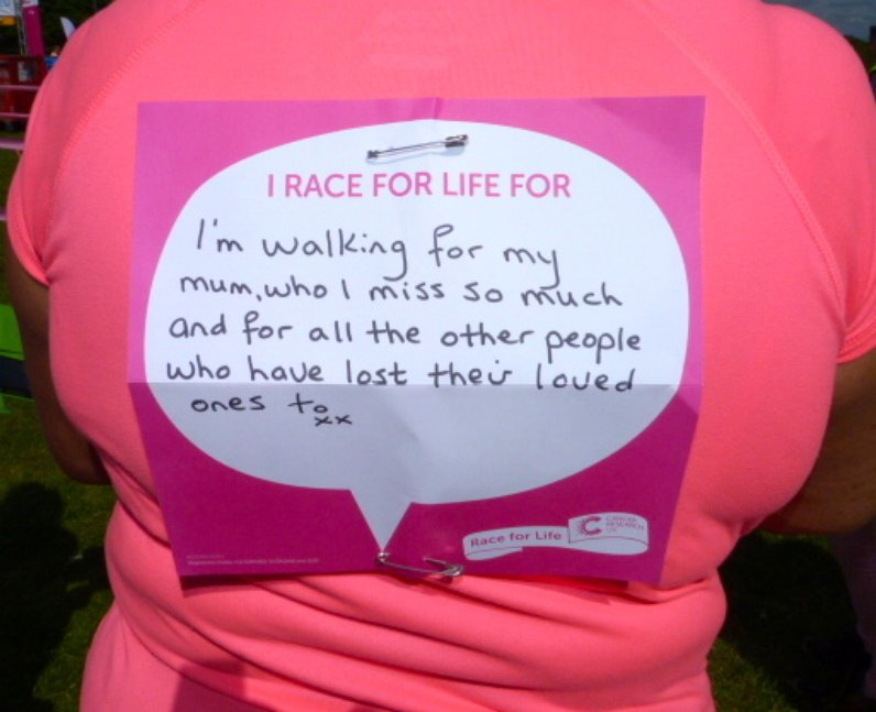 Harlow Race For Life - Why You Did It