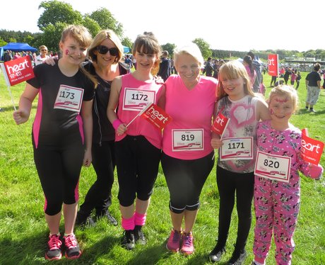 Aylesbury Race for Life: Pre-Race photos