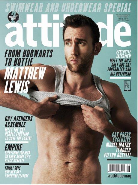 Matthew Lewis Attitude Magazine