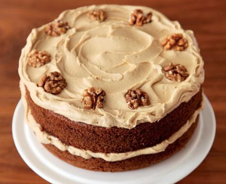 Nigella Coffee Walnut Cake