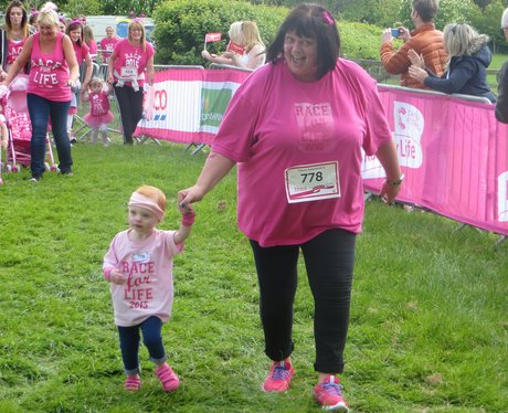 Race for Life finishers