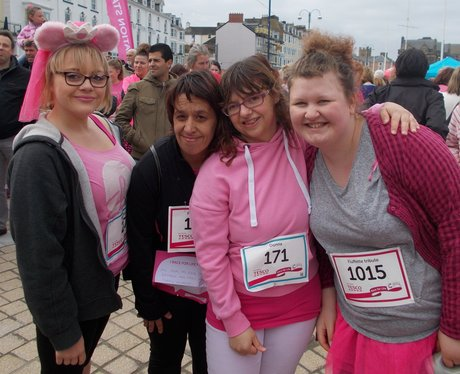 Runners ready for Race for Life
