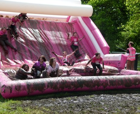 Race For Life Pretty Muddy - before the race!