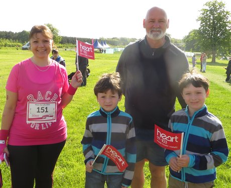 Aylesbury Race for Life: Pre-Race photos
