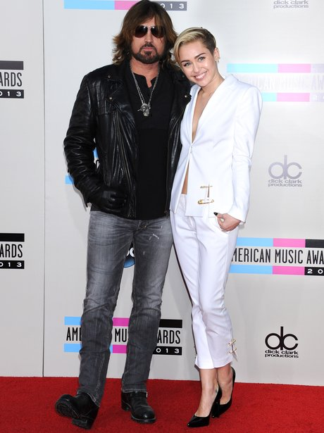 Billy Rae and Miley Cyrus