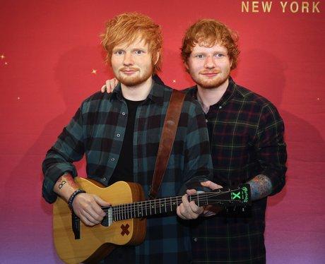 Ed Sheeran Wax Work