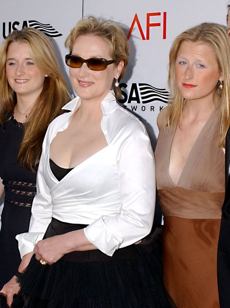 Meryl Streep, Mamie and Grace Gummer