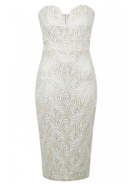 9506194eb3 Halo Swirl Bodycon Dress by TFNC