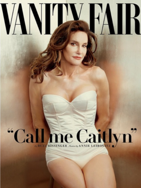 Caitlyn Jenner on the cover of Vanity Fair magazin