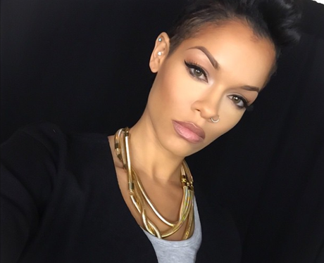 Candice Brooke Rihanna Lookalike