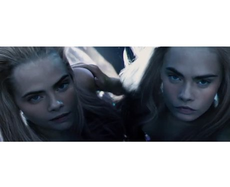 Cara Delevingne in 'Pan' Youtube cropped