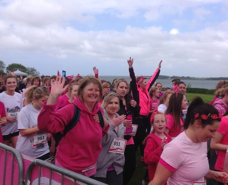 ladies running