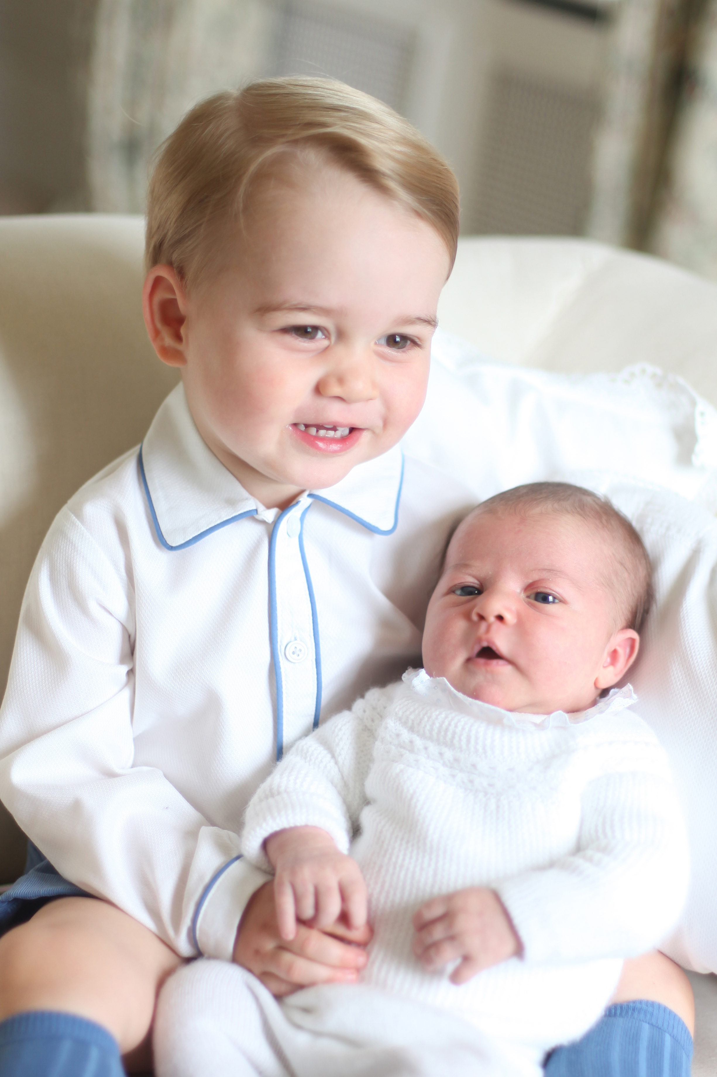 Prince George and Princess Charlotte Official Pict