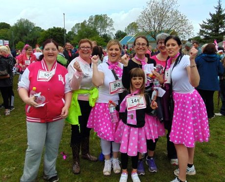Race For Life Bridgend 2015: The Medals