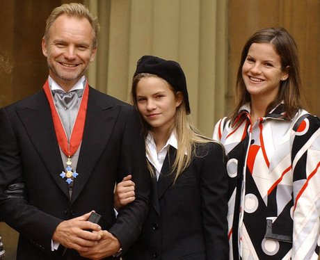 Sting with wife Trudie Styler and children Eliot P