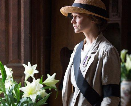 Suffragette movie still featuring Carey Mulligan