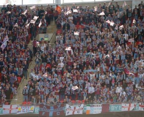 Villa fans as the FA Cup final begins