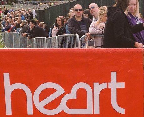 The queue for Elton John