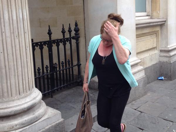 Becky Minnock's mum court