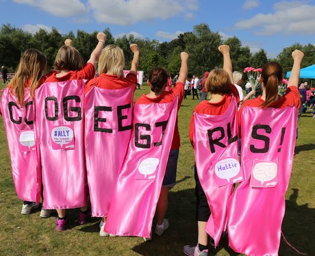 Race For Life Sutton Before the Race!