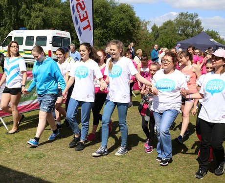 Race For Life Sutton Before the Race part 2!