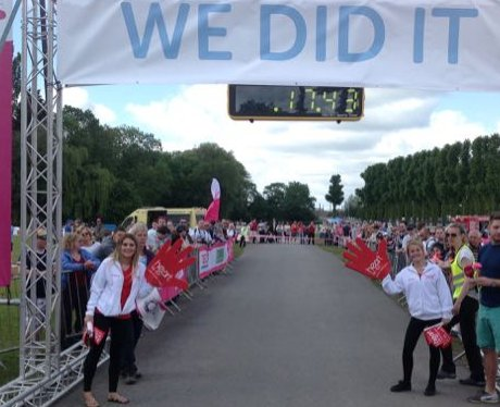 Windsor Race for Life: Finish Line